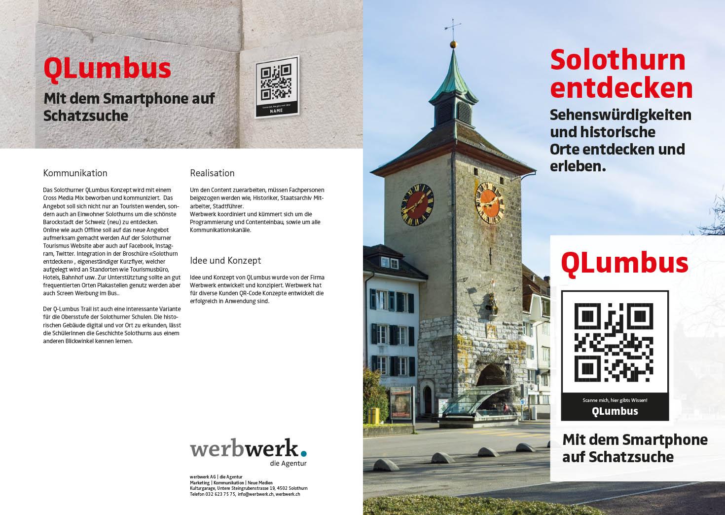 QLumbus QR-Code App